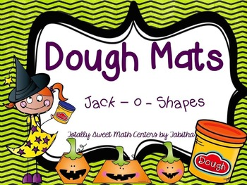 Dough Mats- Jack - o - shapes