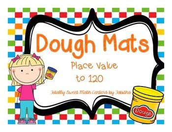 Dough Mats- Place Value to 120
