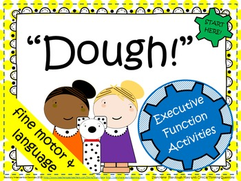 """""""Dough"""" - Play Dough Mats with Critical Thinking Questions"""