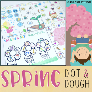 Dough and Dot: Spring theme