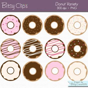 Doughnut Donut Clipart Commercial Use Clip Art
