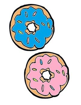 Doughnut Shop game/chant