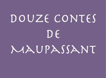 Douze Contes de Maupassant : La Nuit (vocab page)