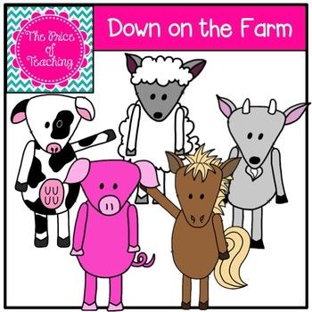 Down on the Farm Clipart Set