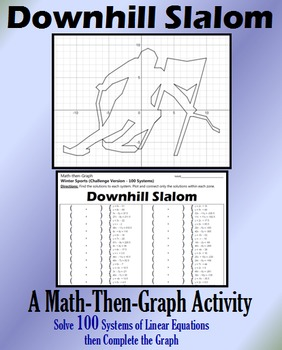Downhill Slalom - Challenge Version - 100 Systems & Coordi