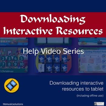 Downloading Interactive Games And Activities Help Video