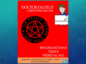 Dr Faustus - Renaissance Man vs the Medieval World