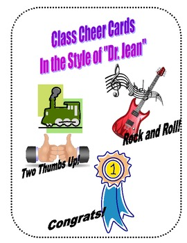 """""""Dr. Jean"""" Style Class Cheer Cards!"""