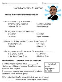 Dr. King Unit Test