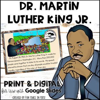 Dr. Martin Luther King Jr. {Activities and Resources to Su