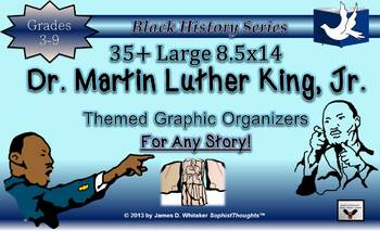 Dr. Martin Luther King, Jr. Graphic Organizers and Resourc