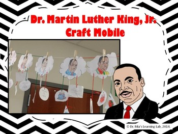 Dr. Martin Luther King, Jr. Craft Activity
