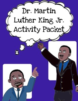 Dr. Martin Luther King Jr. Packet  (with free MLK Bookmark