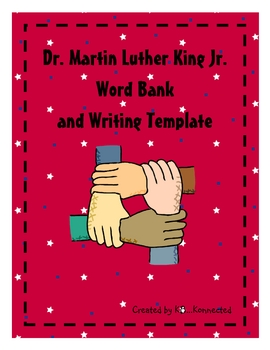 Dr. Martin Luther King Jr. Word Bank FREEBIE!