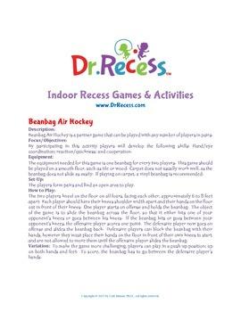 Dr. Recess Indoor Recess Games & Actvities