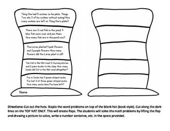 Dr Seuss Addition & Subtraction Flip Book