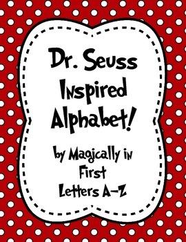 Dr. Seuss Alphabet Letters !