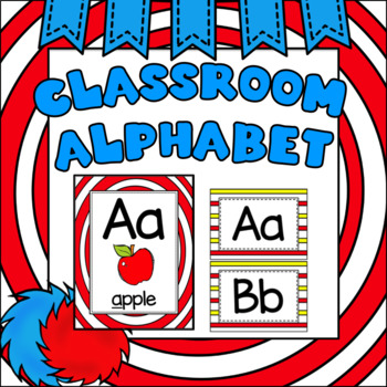 Alphabet Posters Whimsical