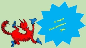 Dr. Seuss Behavior Clip Chart