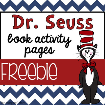Dr. Seuss Book Activity Pages