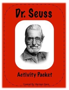 Dr. Seuss Bundle - Activities about Dr. Seuss and 3 books