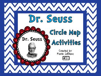 Dr. Seuss Circle Map Activities