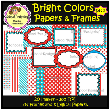 Dr Seuss : Digital Papers and Frames