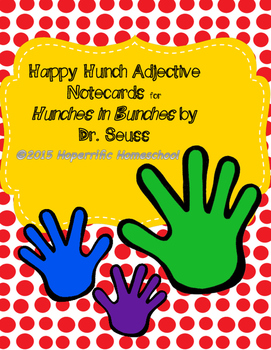 Dr. Seuss Hunches in Bunches Cards