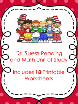 Dr. Seuss/Read Across America K-2 Math and Reading Unit Pr