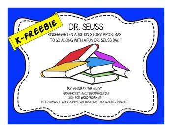 Dr. Seuss Kindergarten Math - Addition