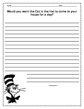 Dr. Seuss Persuasive Writing