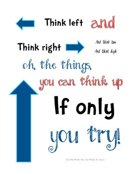 Dr. Seuss Quote Signs