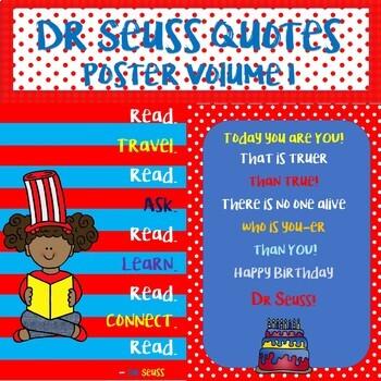 Dr. Seuss Quotes Poster Bundle