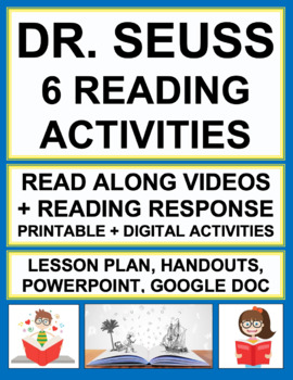 Dr. Seuss Reading Activities with QR Codes