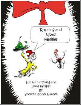 Dr. Seuss Rhyming and Word Families