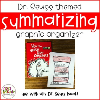 Dr. Seuss Summarizing Graphic Organizer