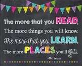 Dr. Seuss The More That You Read The Places You'll Go Chal