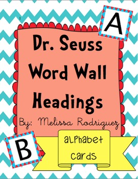 Dr S Word Wall Headings