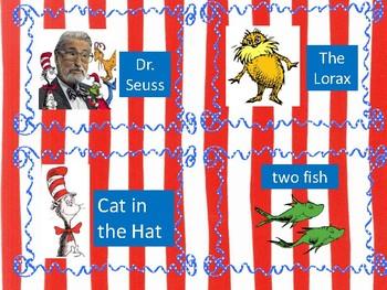 Dr. Seuss Write the Room