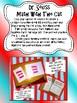 Dr. Seuss Writing and Math Bundle - Centers Phonics Math A
