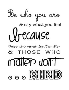 Dr. Suess Inspirational Quotes