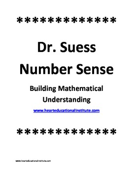 Dr. Suess Number Sense