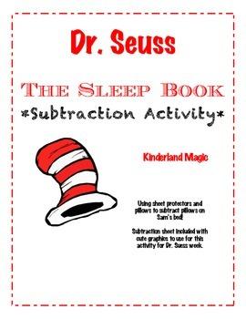 Dr. Seuss Sleep Book Subtraction