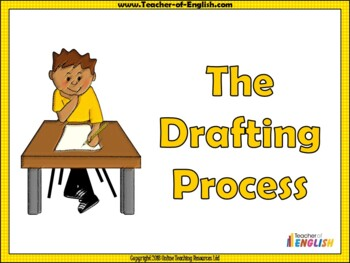 Drafting, Revising and Editing
