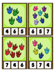 Dragon / Dinosaur Foot Prints Counting 0 to 20 Clip Card M