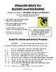 BLENDS | Color Dragons | Discs | PRACTICE Activity | CORE
