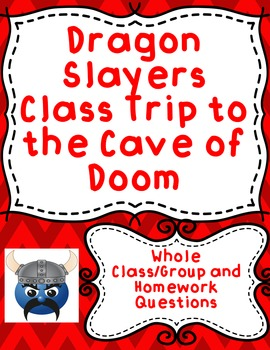 Dragon Slayers Academy Class Trip to the Cave of Doom by K