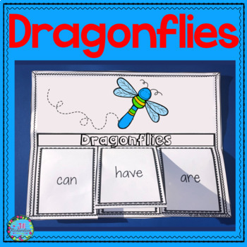 Dragonflies Interactive Printables and Fast Facts!