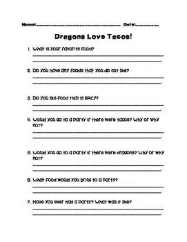 Dragons Love Tacos - Building Background