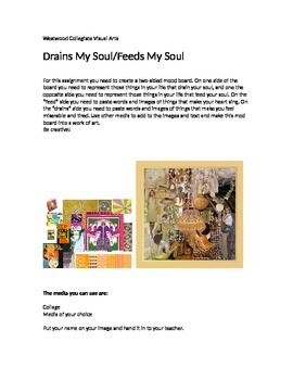 Drains My Soul- Feeds My Soul